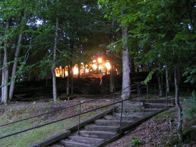 Ponca Bible Camp Arkansas Camping
