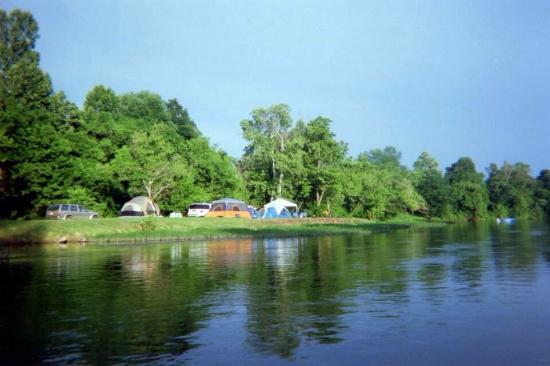 Spring River Arkansas Camping