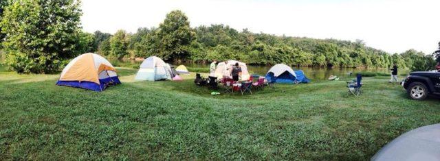 Spring River Oak Campground Arkansas Camping
