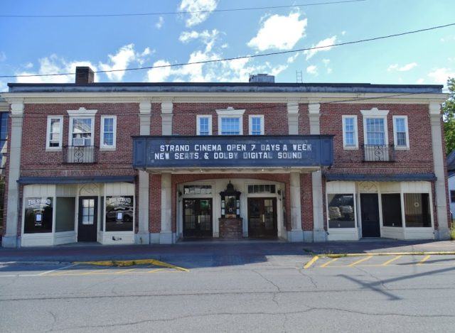 Strand Cinema Haunted Houses in Maine