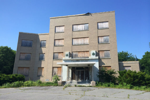 The Old Notre Dame Hospital Haunted Maine