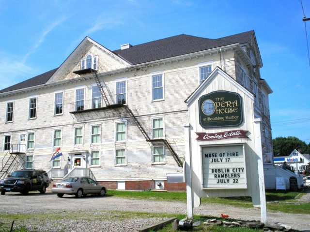 The Opera House Maine Haunted Places