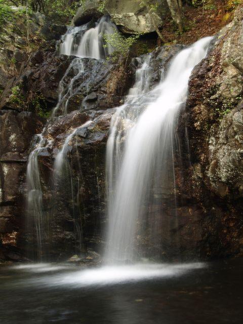 Waterfall Alabama Cheaha Falls