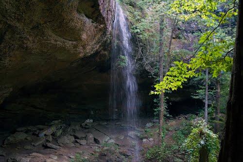Waterfall Alabama Falling Rock Falls