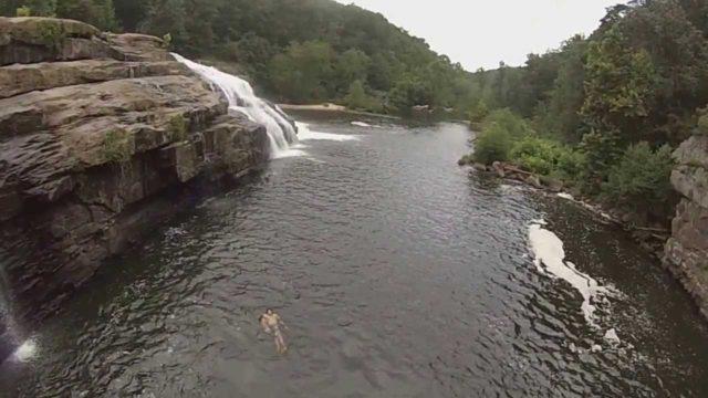 Waterfall Alabama High Falls