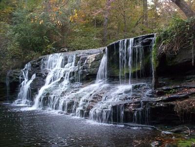 Waterfall Alabama Mardis Mill Falls