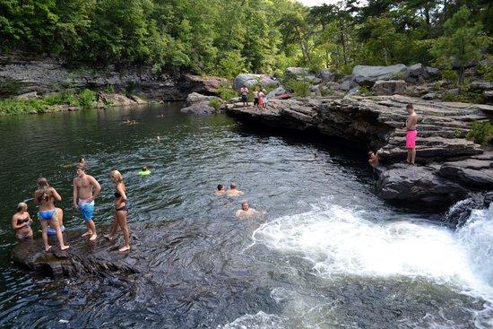 Waterfall Alabama Martha's Falls