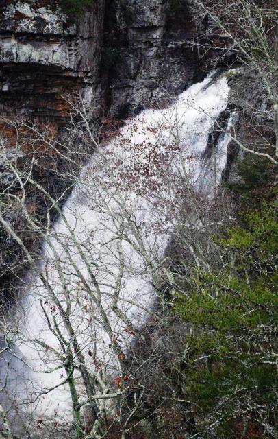 Waterfall Alabama Yellow Creek Falls