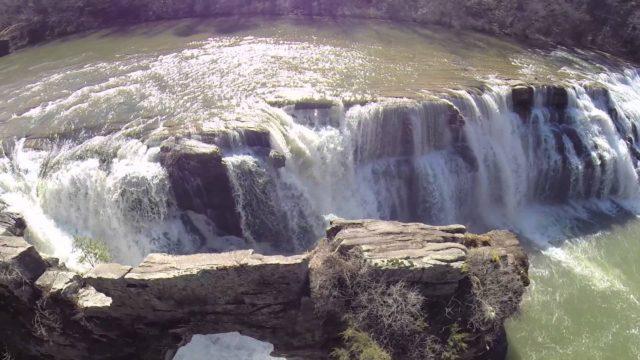 Waterfall in Alabama High Falls