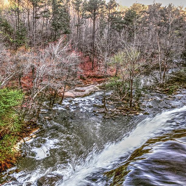 Waterfall in Alabama Welti falls