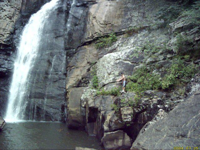Waterfall in Alabama Yellow Creek Falls