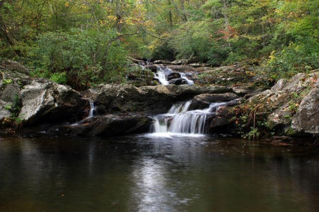 Waterfalls Alabama Cheaha Falls