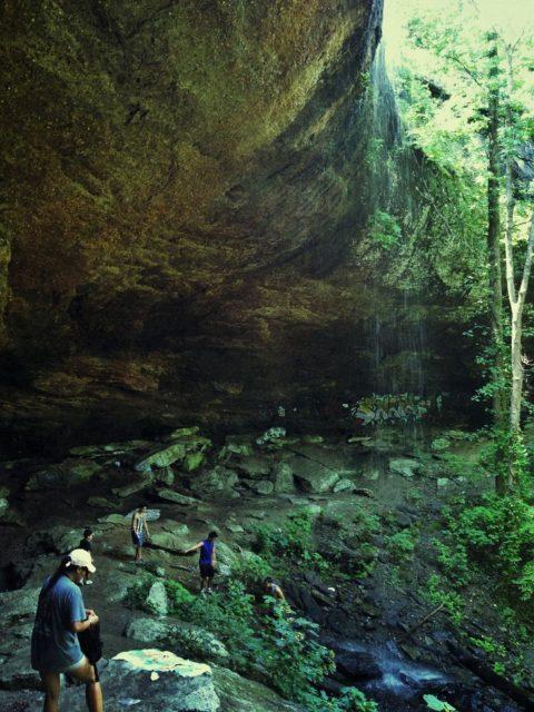 Waterfalls Alabama Falling Rock Falls