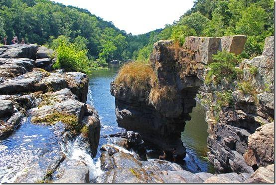 Waterfalls Alabama High Falls