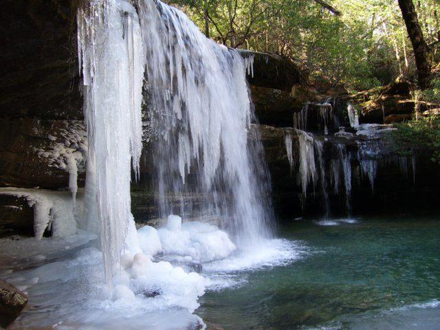 Waterfalls in Alabama Kinlock Falls