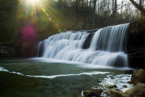 Waterfalls in Alabama Mardis Mill Falls