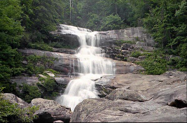 Waterfalls in Alabama Thompson Falls