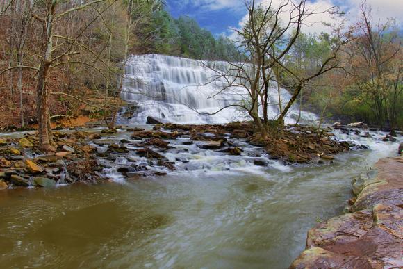 Waterfalls in Alabama Welti Falls