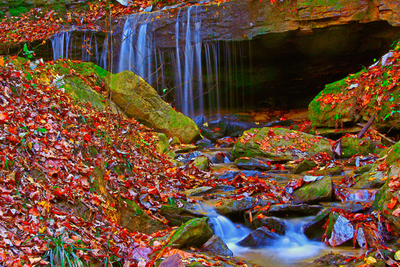 Waterfalls in Alabama