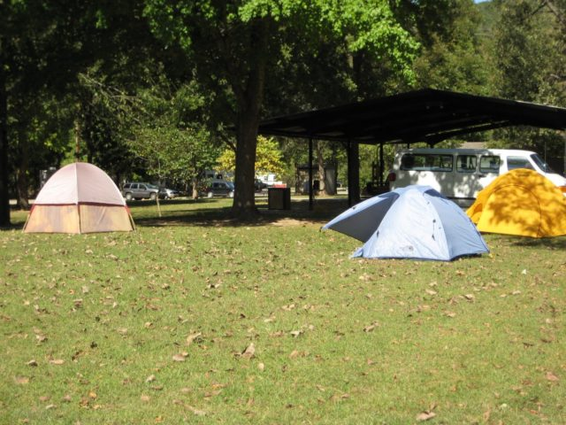 White River Arkansas Camping