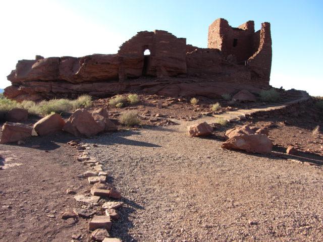 Arizona National Monument Wupatki and Sunset Crater