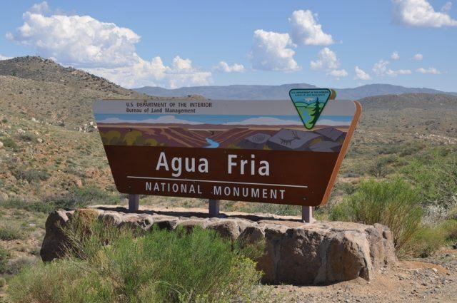 Arizona National Monuments Agua Fria