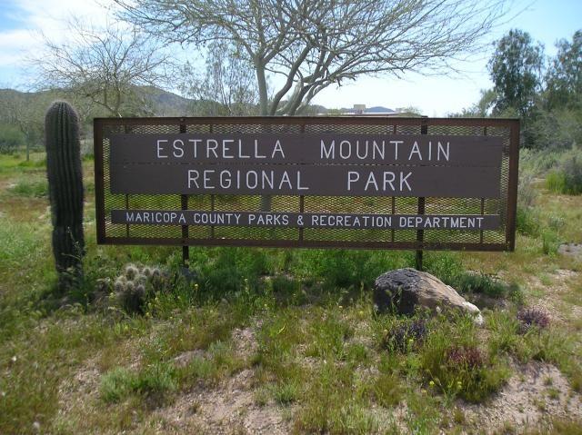 Arizona National Parks Estrella Mountain Regional Park