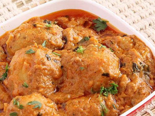 Dum Aloo Jammu and Kashmir Veg Food