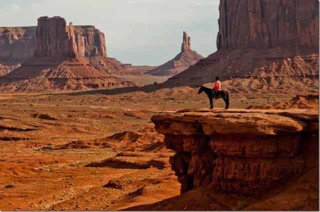 National Park in Arizona Monument Valley Navajo Tribal Park
