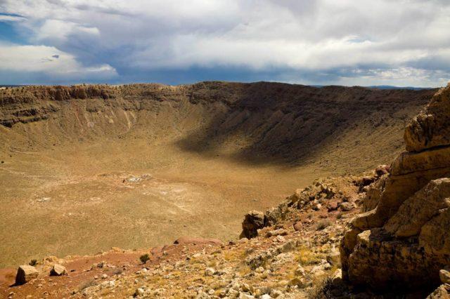 National Parks in Arizona Meteor Crater Landmark