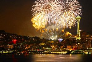 Seattle 4th of July Fireworks
