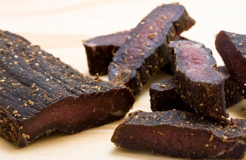 Biltong Common South African Food