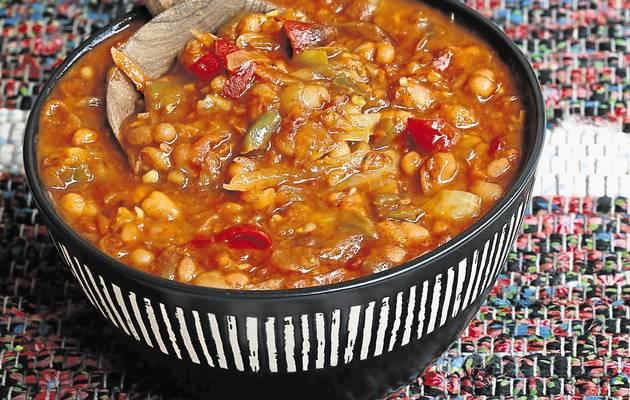 Chakalaka South African Vegetarian Food