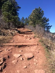 Hiking in Flagstaff Viewpoint Trail