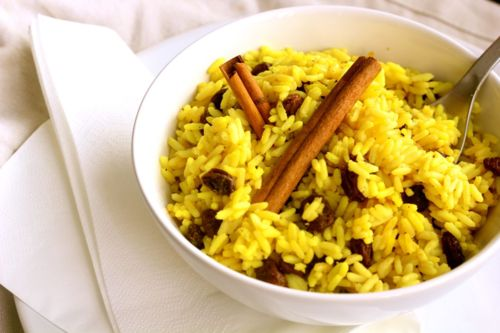 Yellow Rice South African Food