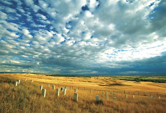 Little Bighorn Battlefield National Monument National Park in Montana