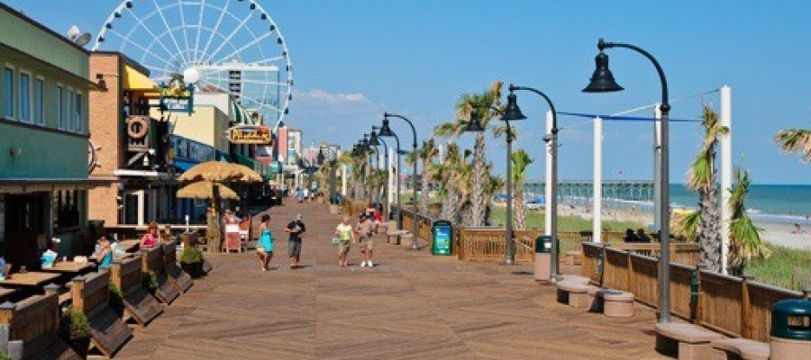 The Boardwalk Myrtle Beach Sc Best Beaches In World