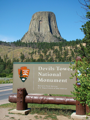 National Park Wyoming Devils Tower National Monument