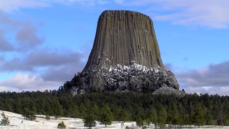 Wyoming National Parks and Monuments Devils Tower