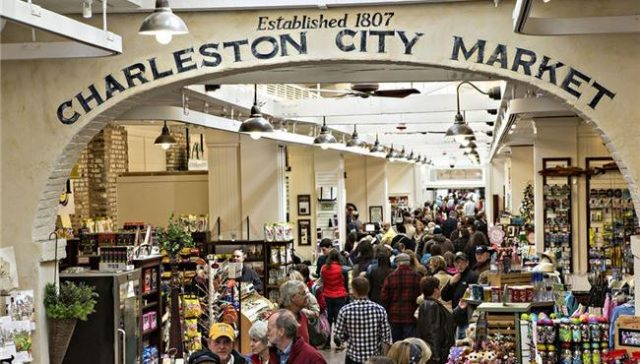 Free Things to do in Charleston The Old City Market