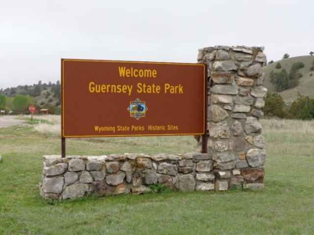 Guernsey State Park Wyoming
