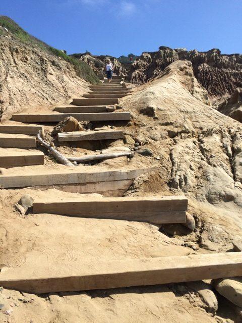 Hiking Trail San Diego Point Loma Tidepools and Bluffs Trail