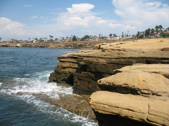 Hiking Trails San Diego CA Sunset Cliffs Natural Park