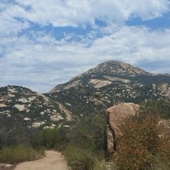Hiking Trails San Diego El Cajon Mountain