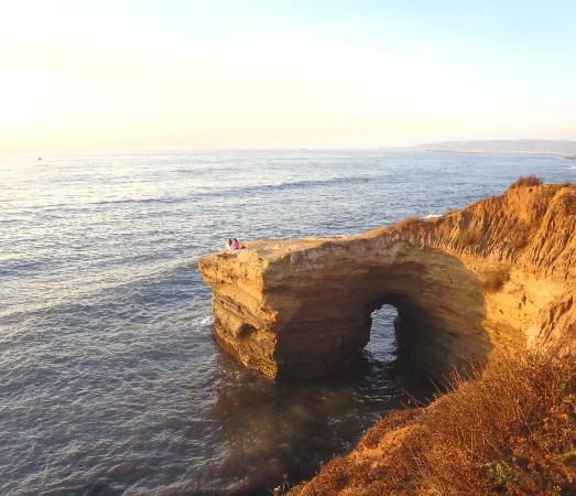 Hiking Trails in San Diego County Sunset Cliffs Natural Park