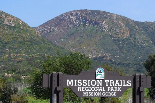 Hiking Trails near San Diego Missions Trail Regional Park