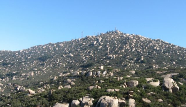 Hiking Trails near San Diego Mount Woodson