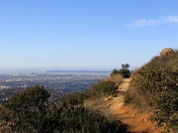 San Diego Hiking Trails Kids Cowles Mountain