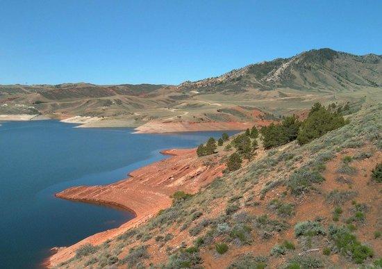 State Park Wyoming Seminoe