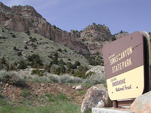State Parks Wyoming Sinks Canyon
